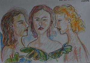 Dibujo de Angel Arias.